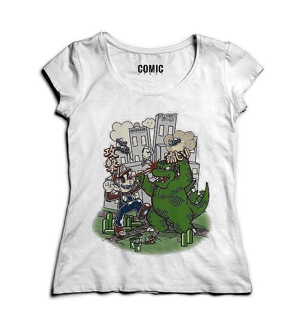 Camiseta Feminina  Big in Japan - Nerd e Geek - Presentes Criativos