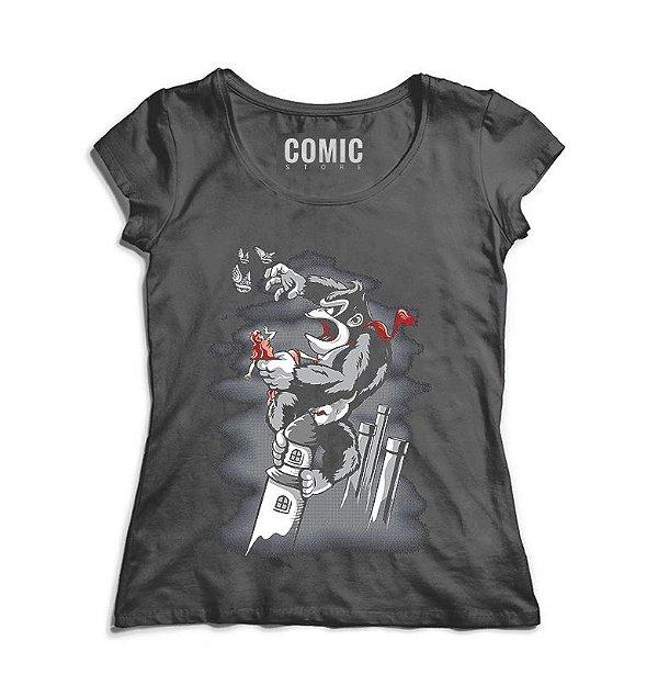 Camiseta Feminina The Wonder - Nerd e Geek - Presentes Criativos