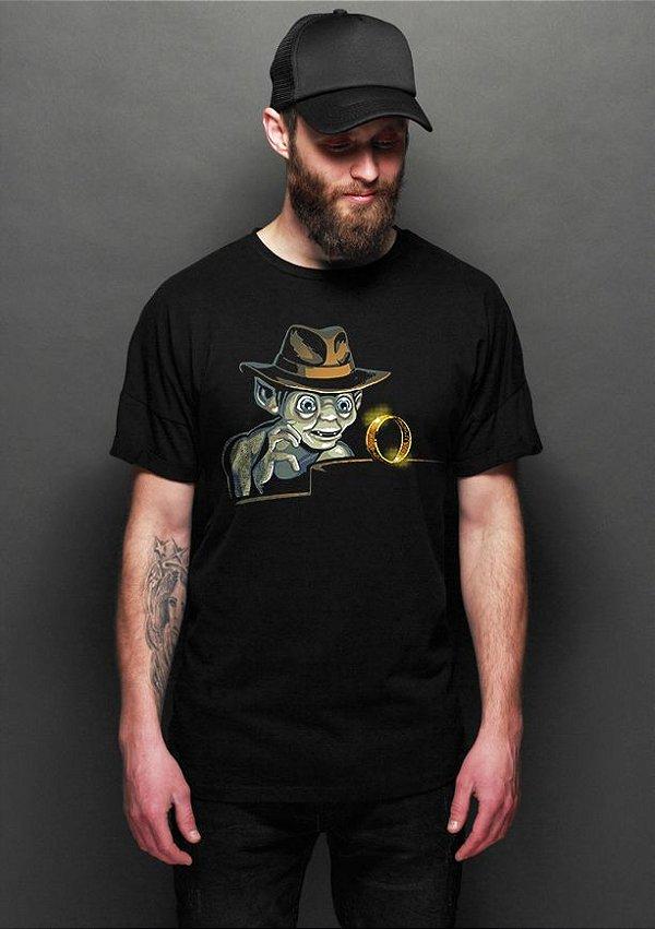 Camiseta Masculina  Jones - Nerd e Geek - Presentes Criativos