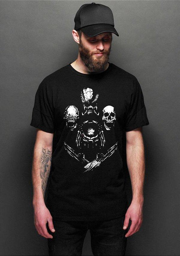 Camiseta Masculina Aliens - Nerd e Geek - Presentes Criativos