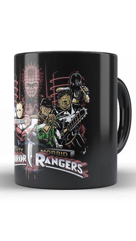 Caneca Rangers - Nerd e Geek - Presentes Criativos