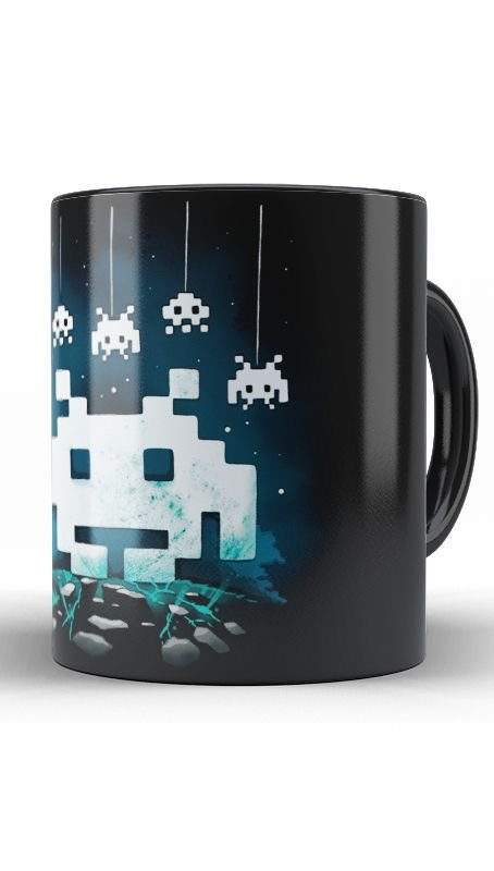 Caneca Space Atari - Nerd e Geek - Presentes Criativos