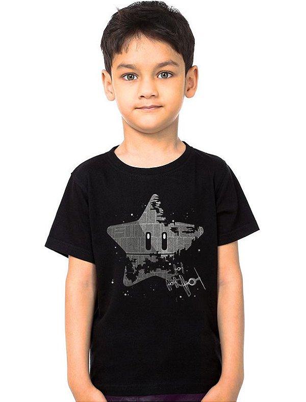 Camiseta Infantil Super Estrela Nerd e Geek - Presentes Criativos