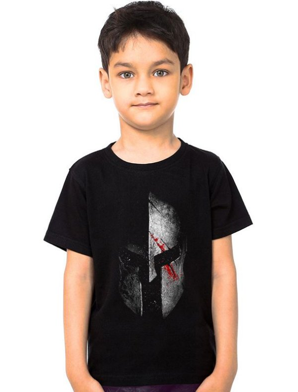 Camiseta Infantil Spartan - Nerd e Geek - Presentes Criativos