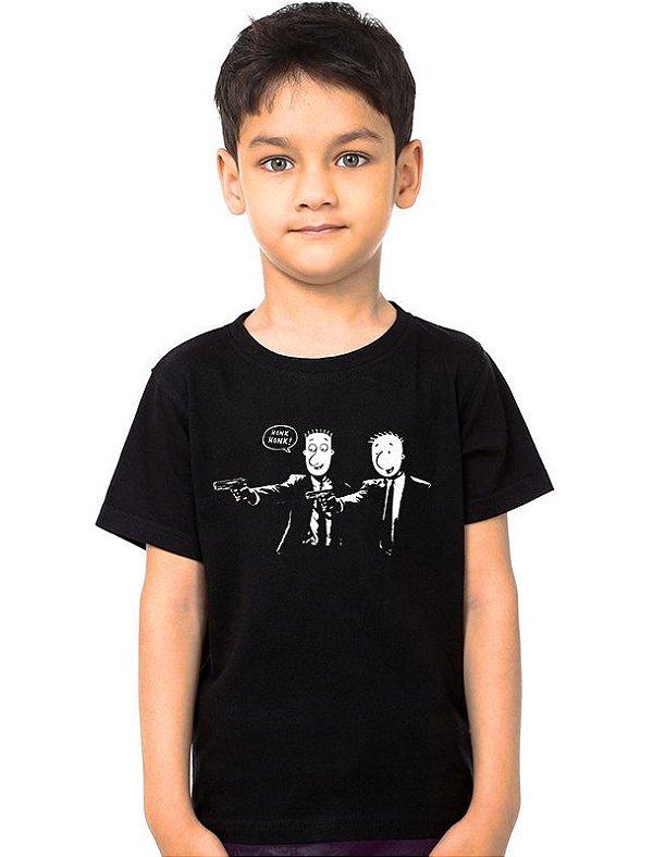 Camiseta Infantil Doug Fiction Nerd e Geek - Presentes Criativos