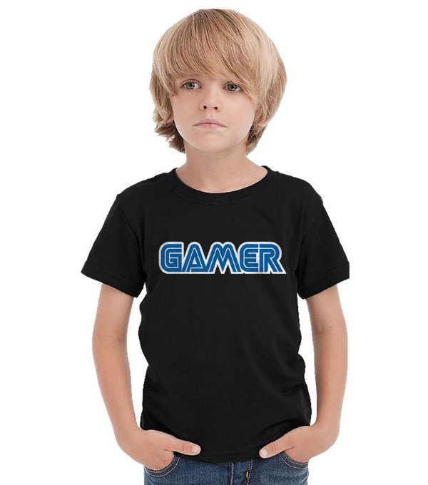 Camiseta Infantil Gamer - Nerd e Geek - Presentes Criativos