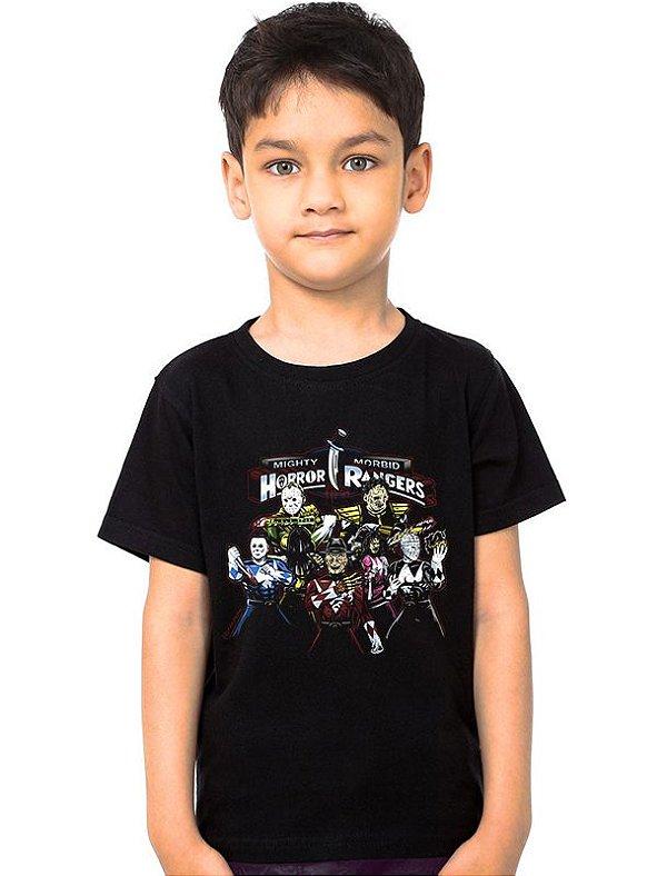 Camiseta Infantil Rangers Nerd e Geek - Presentes Criativos