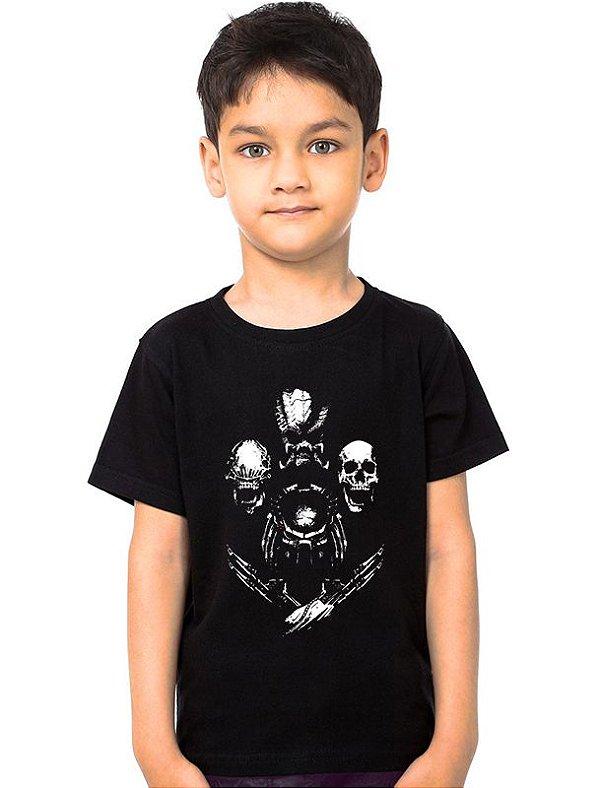 Camiseta Infantil Aliens Nerd e Geek - Presentes Criativos