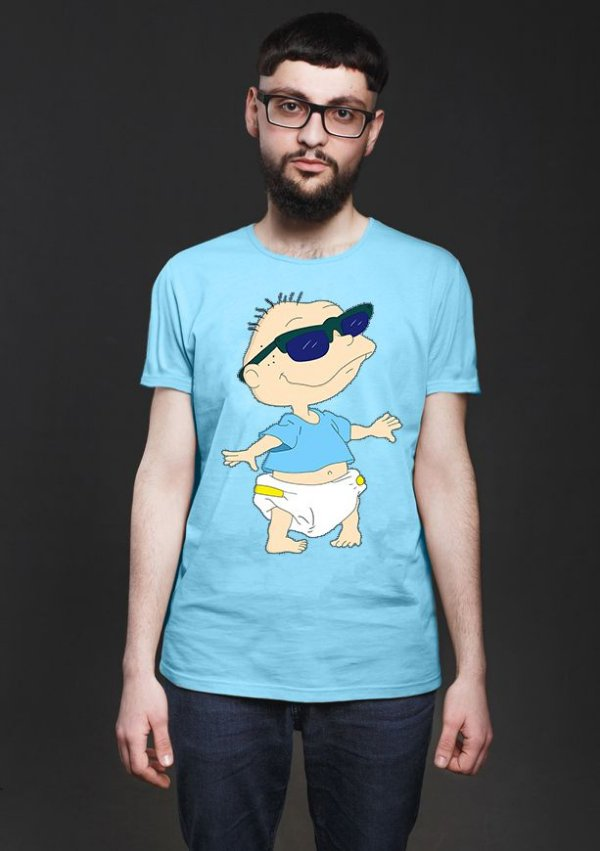Camiseta Masculina Anjinhos - Nerd e Geek - Presentes Criativos