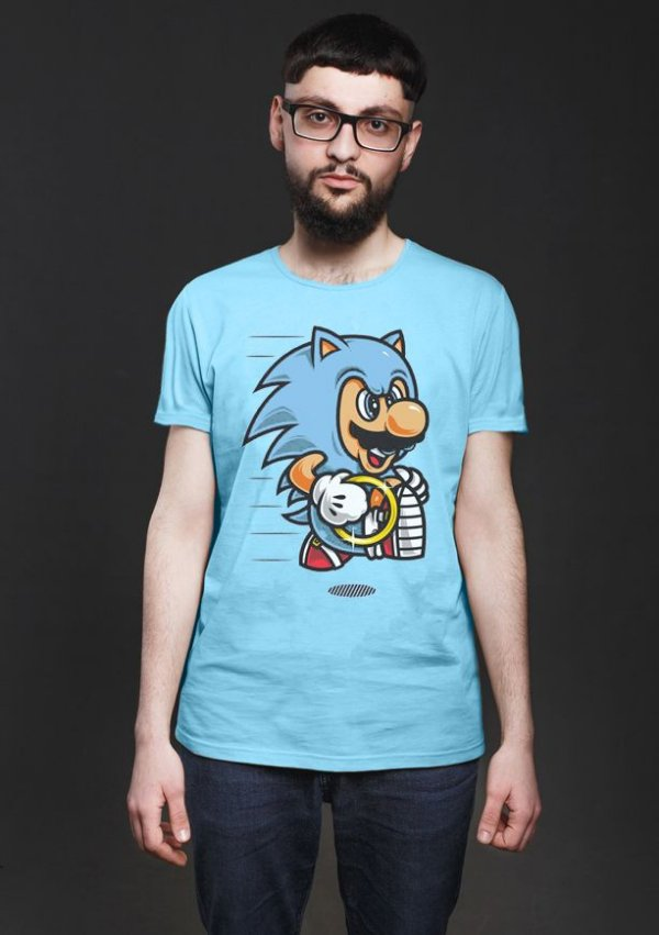 Camiseta Masculina Veloz - Nerd e Geek - Presentes Criativos