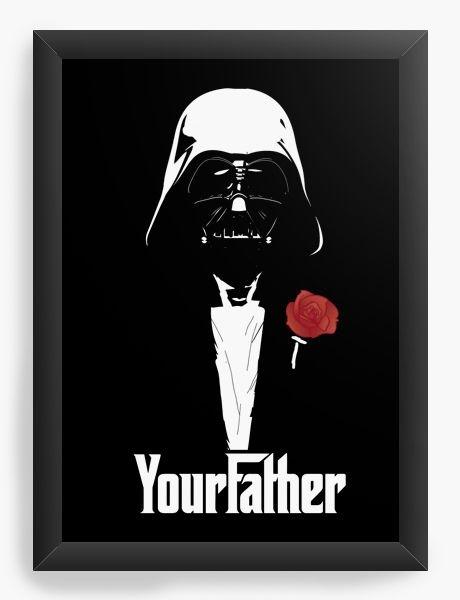 Quadro Decorativo A3 (45X33) Your Father