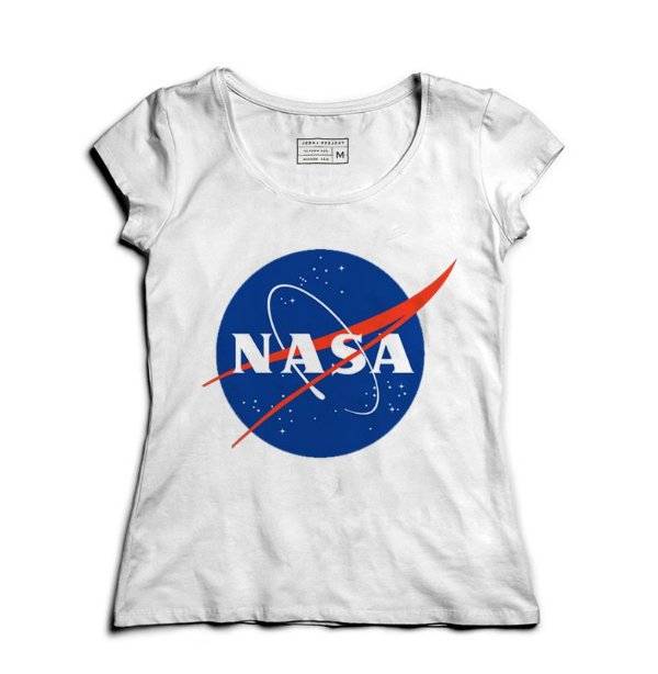 Camiseta Feminina Nasa  - Presentes Criativos