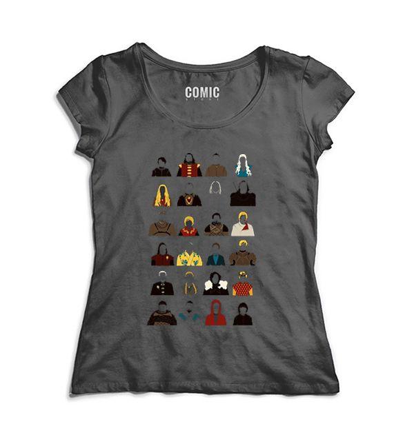 Camiseta Feminina Game of Thrones - Nerd e Geek - Presentes Criativos