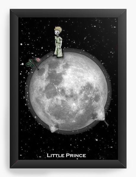 Quadro Decorativo A3 (45X33) O Pequeno Principe - Nerd e Geek - Presentes Criativos