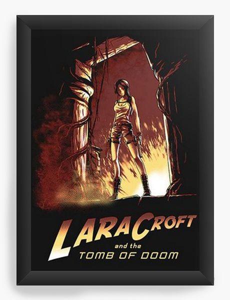 Quadro Decorativo A4 (33X24) Tomb Of Doom  - Nerd e Geek - Presentes Criativos
