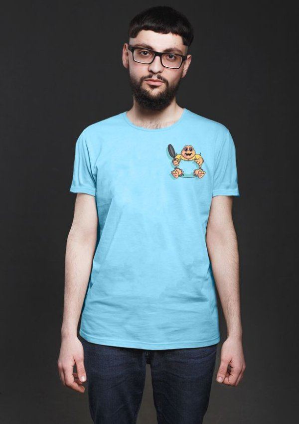 Camiseta Masculina  Baby Nerd e Geek - Presentes Criativos