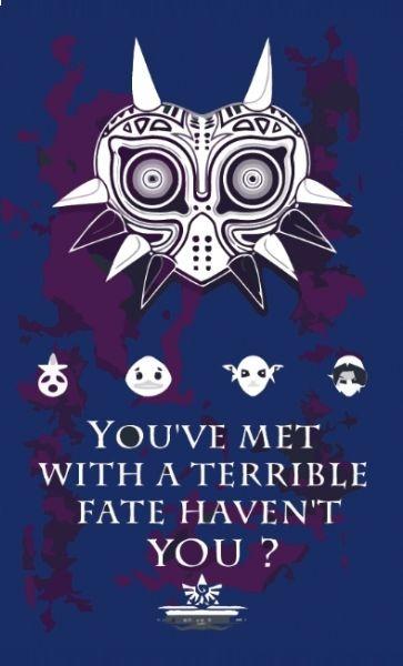Camiseta The Legend Of Zelda Majora Mask