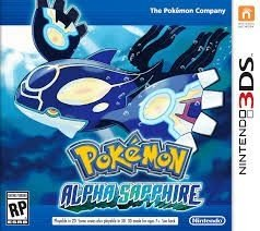 Pokémon Alpha Sapphire - 3Ds - Nerd e Geek - Presentes Criativos