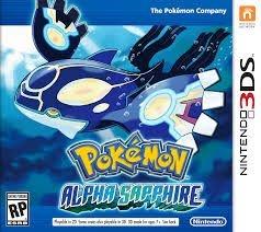 Pokémon Alpha Sapphire - 3Ds - Nerd e Geek - Presentes Criativos