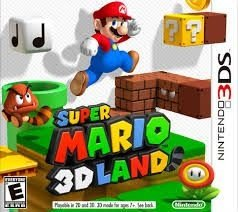 Super Mario 3D Land - 3Ds - Nerd e Geek - Presentes Criativos
