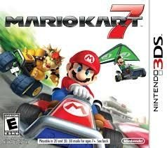 Mario Kart 7 - 3Ds - Nerd e Geek - Presentes Criativos