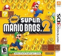 New Super Mario Bros 2 - 3Ds - Nerd e Geek - Presentes Criativos