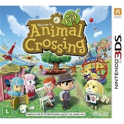 Animal Crossing: New Leaf - 3Ds - Nerd e Geek - Presentes Criativos