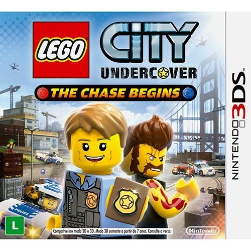 Lego City Undercover The Chase Begins - 3Ds - Nerd e Geek - Presentes Criativos