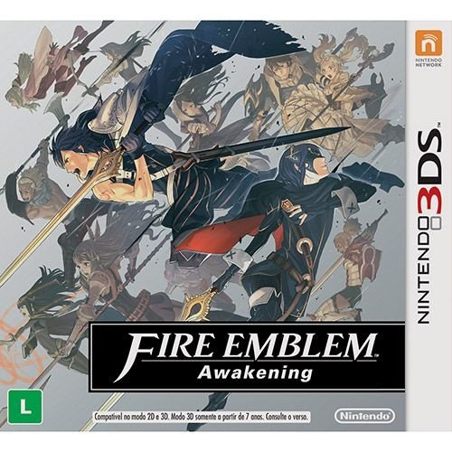 Fire Emblem: Awakening - 3Ds - Nerd e Geek - Presentes Criativos
