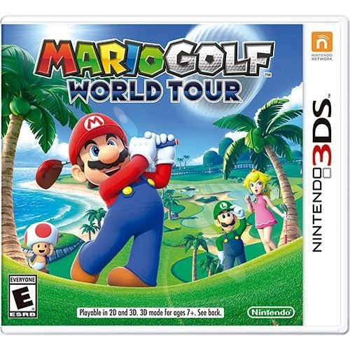 Mario Golf World Tour - 3Ds - Nerd e Geek - Presentes Criativos