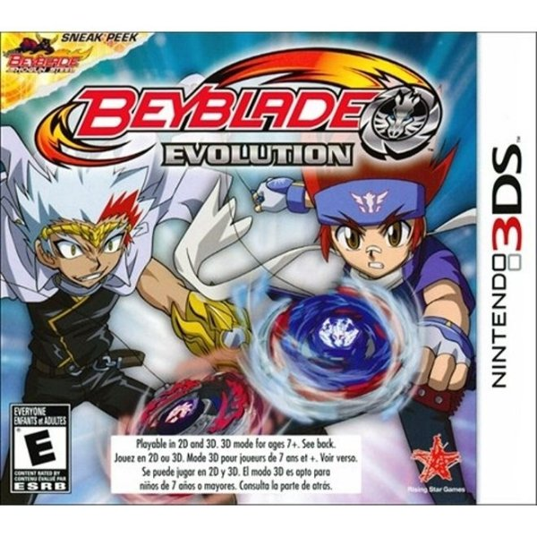 Beyblade - Evolution - 3Ds