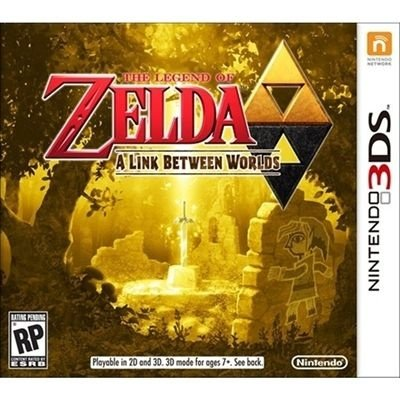 The Legend Of Zelda - A Link Between Worlds - 3Ds - Nerd e Geek - Presentes Criativos