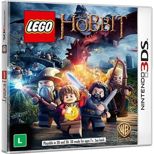 Lego O Hobbit Br - 3Ds