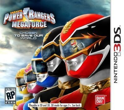 Power Rangers Megaforce - 3Ds - Nerd e Geek - Presentes Criativos