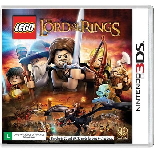Lego Lord Of The Rings - 3Ds - Nerd e Geek - Presentes Criativos