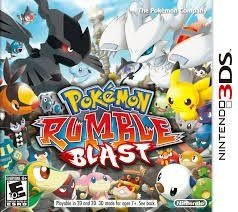 Pokémon Rumble Blast - 3Ds - Nerd e Geek - Presentes Criativos
