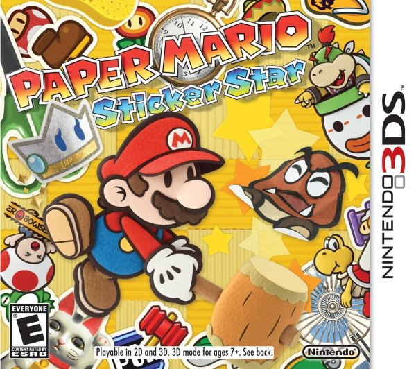 Paper Mario Sticker Star - 3Ds - Nerd e Geek - Presentes Criativos