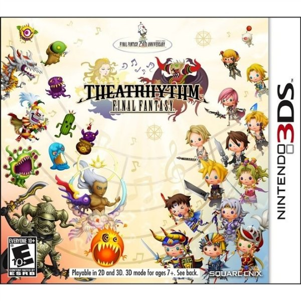 Final Fantasy Theatrhythm - 3Ds - Nerd e Geek - Presentes Criativos