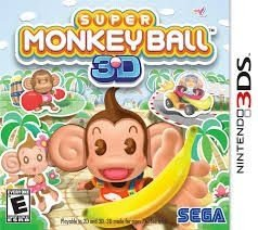 Super Monkey Ball 3D - 3Ds - Nerd e Geek - Presentes Criativos