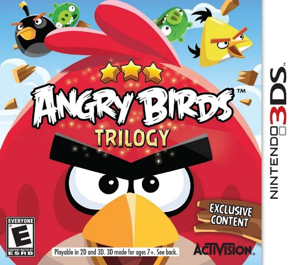 Angry Birds Trilogy - 3Ds - Nerd e Geek - Presentes Criativos
