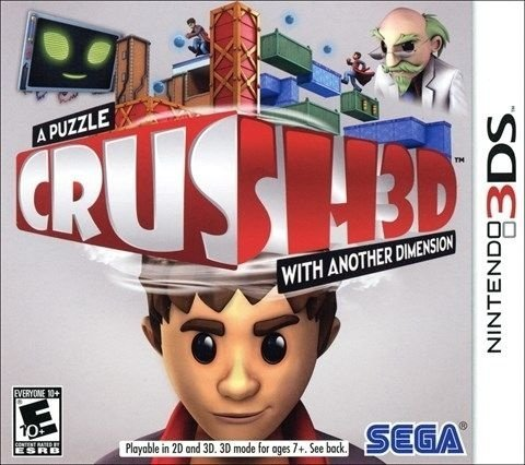 Crush 3D - 3Ds - Nerd e Geek - Presentes Criativos