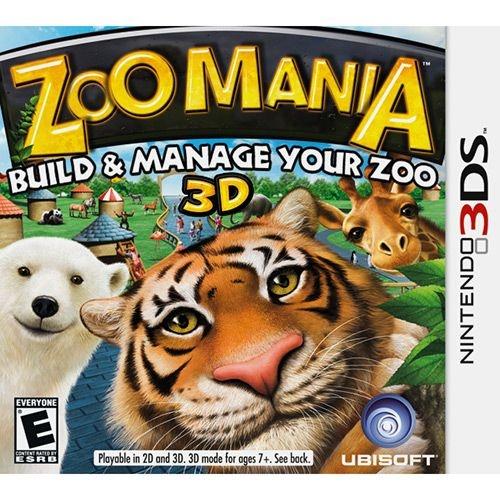 Zoo Mania - 3Ds - Nerd e Geek - Presentes Criativos