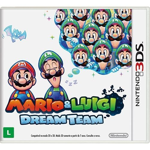 Luigi: Dream Team - 3Ds - Nerd e Geek - Presentes Criativos