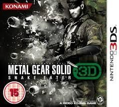 Metal Gear Solid Snake Eater 3D N3Ds - Nerd e Geek - Presentes Criativos