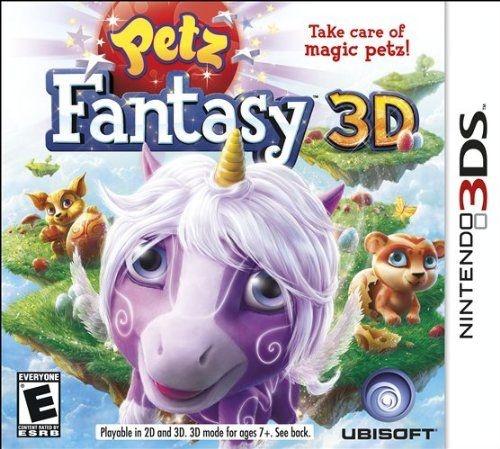 Petz Fantasy 3D - 3Ds - Nerd e Geek - Presentes Criativos