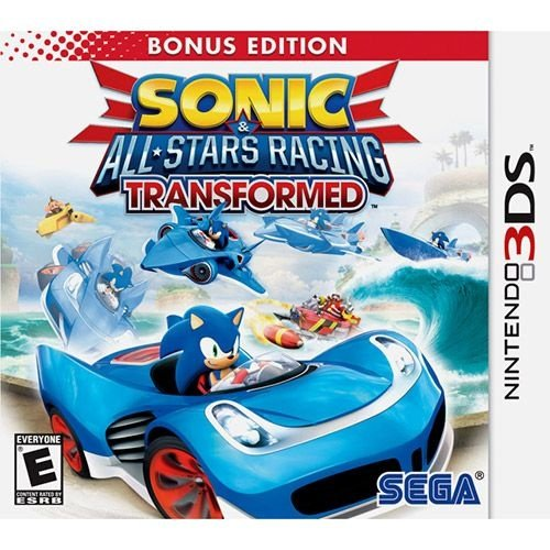 Sonic & All-Stars Racing Transformed - Bonus Edition - 3Ds - Nerd e Geek - Presentes Criativos