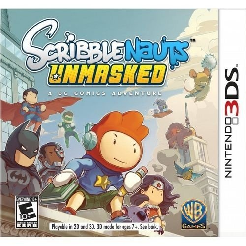 Scribblenauts Unmasked: A Dc Comics Adventure - 3Ds