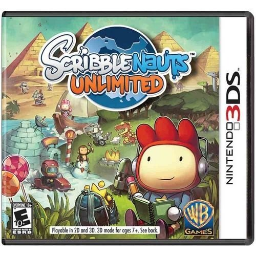 Scribblenauts Unlimited N3Ds - Nerd e Geek - Presentes Criativos