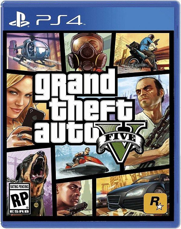 Grand Theft Auto V - Ps4 - Nerd e Geek - Presentes Criativos