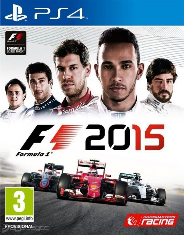F1 2015 - Ps4 - Nerd e Geek - Presentes Criativos